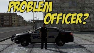 ARMA 2 Island Life - Problem Officer?