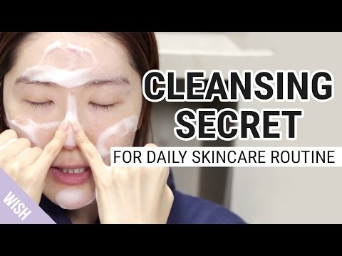A Perfect Facial Cleansing Secret for Daily Skincare Routine | Wishtrend