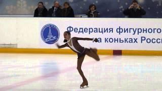 Евгения Медведева, ПП, Russian Juniors 2013
