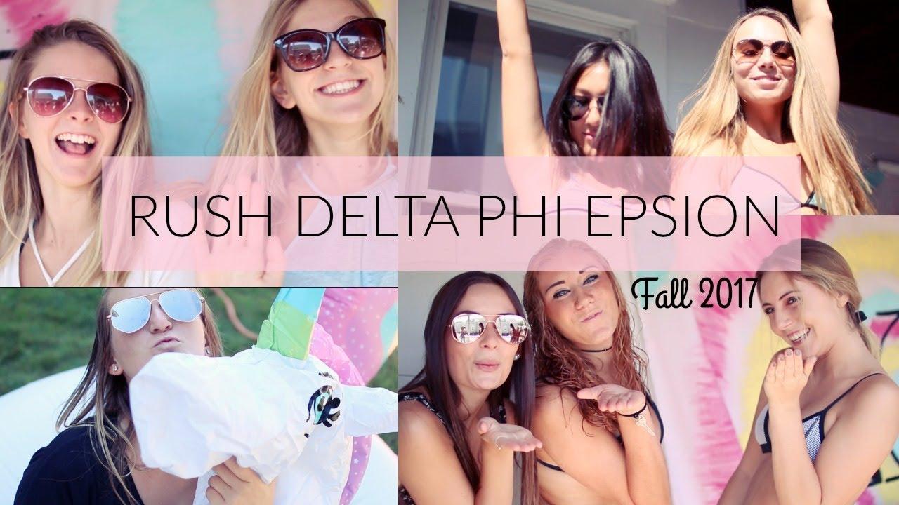 Delta Phi Epsilon Adelphi University Recruitment Video