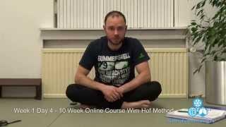 Wim Hof Method - Review Week 1 - Day 4 - Wim Hof Breathing