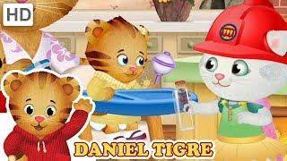 Daniel Tigre em Português 🎨 Fazer um Novo Ofício | Vídeos para Crianças