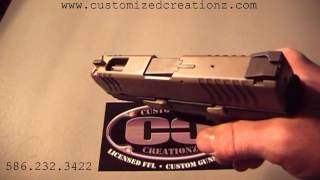 Customized Creationz XDM 9 mm Compact Custom Machine Work