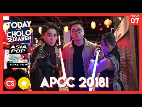 TWCS: MY FIRST AsiaPOP Comiccon - Manila 2018! | Cholo Sediaren