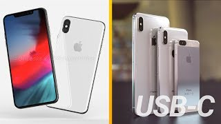 iPhone X Plus First Look, 2019 iPhones To Ditch Lightning Port & More Rumors!
