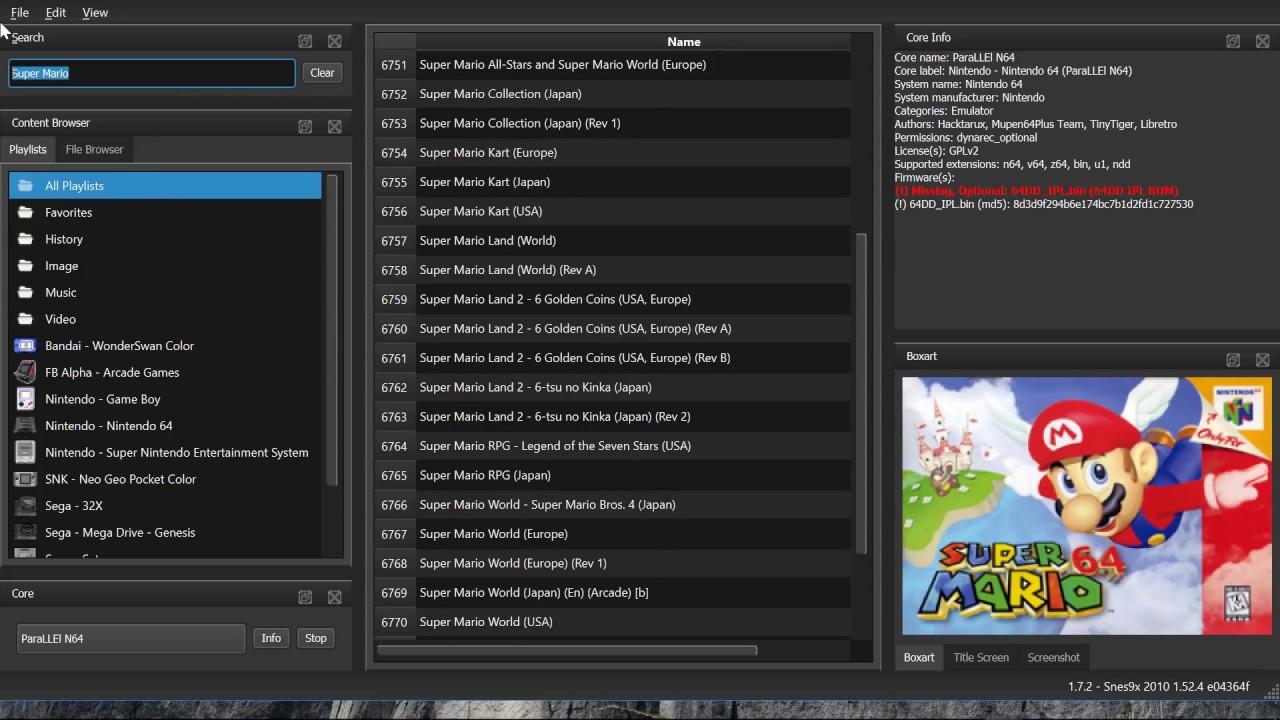 RetroArch 1 7 3 – Released! – Libretro