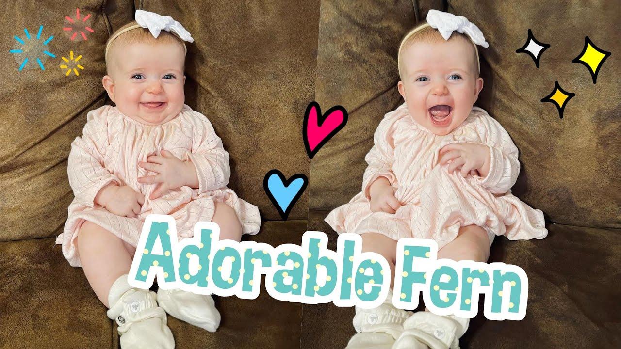 DUGGAR ADORABLE!!! Jessa Duggar Shares Adorable Photos of Fern and says Fern Looks a Lot Like Ivy