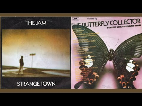 """THE JAM - Strange Town/The Butterfly Collector (7"""")"""