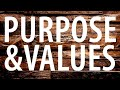 Organizational Values and Purpose