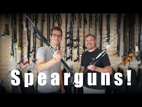 How To Choose A Speargun For UK Waters ¬ The Spearfishing Store