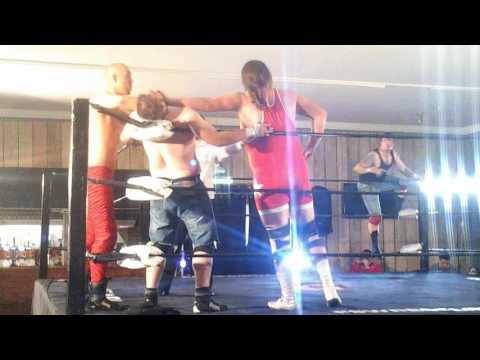The NLP VS KENNY MAC AND JIMMY STARK WEST LYNN TAG CHAMPIONS