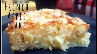 SUPER MOIST FRENCH APPLE CAKE