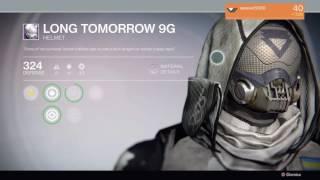 destiny full long tomorrow 9g armor set hunter