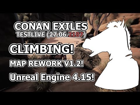 NEW UPDATE! Climbing, Map rework, Unreal engine update | CONAN EXILES