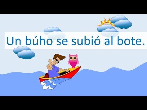 Oraciones Para Aprender A Leer Las Sílabas Ba Be Bi Bo Bu