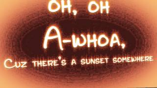 "Megan and Liz - ""Sunset Somewhere"" Lyric Video Thumbnail"