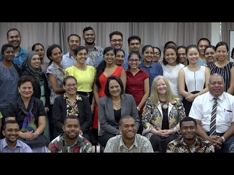 Fijian Minister for Health officiates at the 2018 Doctors Induction program
