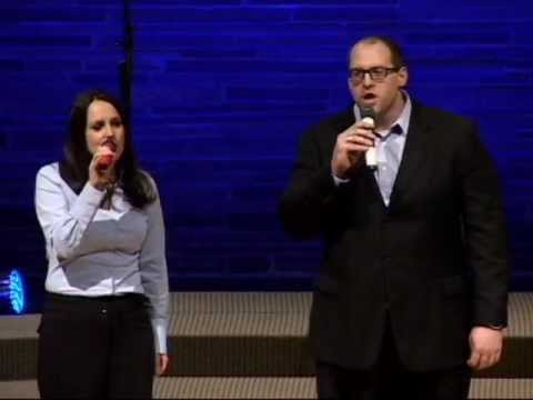 "Brian and Jenny Loveless singing ""Glorious Day"""