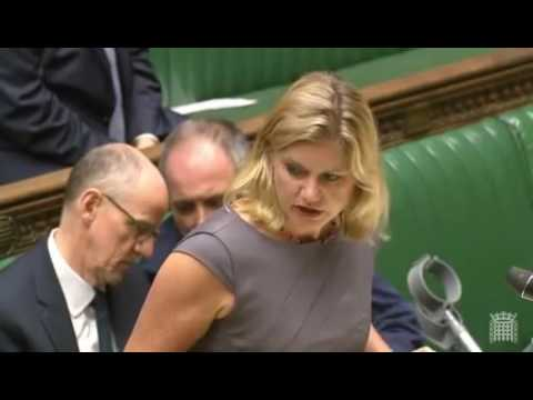 Questioning the Secretary of State for Education about Grammar Schools