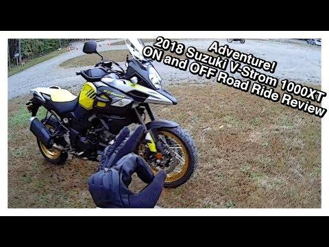 Adventure! 2018 Suzuki V Strom 1000XT Ride Review