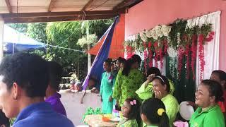 Buat slamat pengntin Bahru untuk amai ayu😘 di Kg orang asli labung endau mersing Johor❤️ 22'6'2018