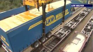 LKW WALTER 13.6m Cranable Trailer