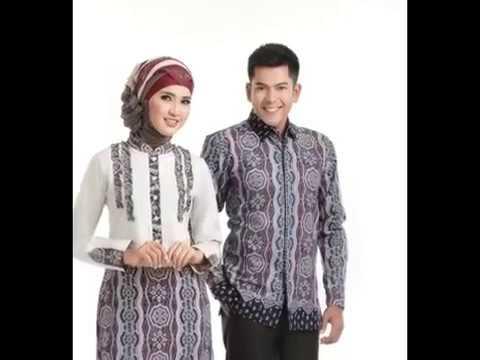 Aneka Model Gamis Batik Kombinasi Terbaru Dan Modern