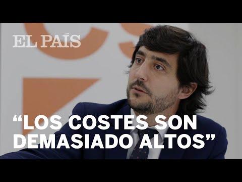 """TONI ROLDÁN deja CIUDADANOS: """"El giro del partido desvirtúa sus principios"""""""