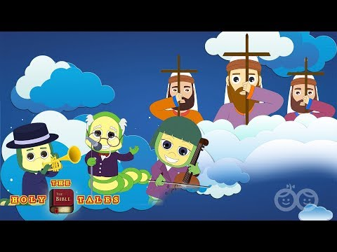 Onward Christian Soldiers I Popular Bible Rhymes For Kids and Children | Holy Tales  Bible Songs