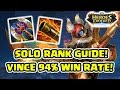 Ngepush Rank Heroes Evolved! Pake Vince! 94% Winrate! - Heroes Evolved Indonesia