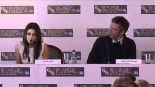 54th BFI LFF: Black Swan Press Conference / Mila Kunis / Vincent Cassel