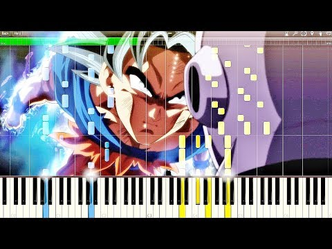 Dragon Ball Super OST - Ultra Instinct (Clash of Gods) | Piano Tutorial