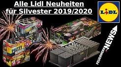 ALLE LIDL SILVESTER NEUHEITEN 2019/2020 | 4K