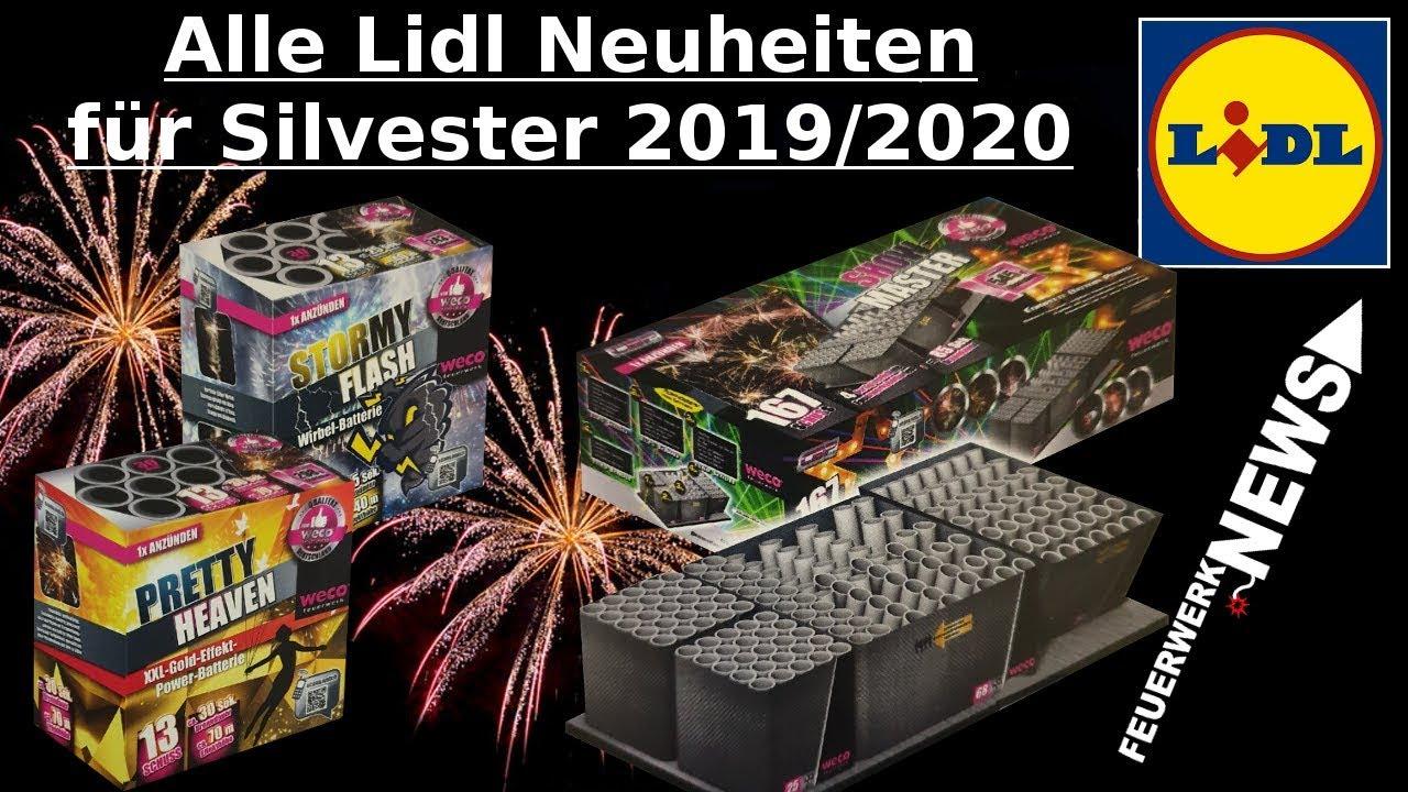 Lidl Silvesterfeuerwerk