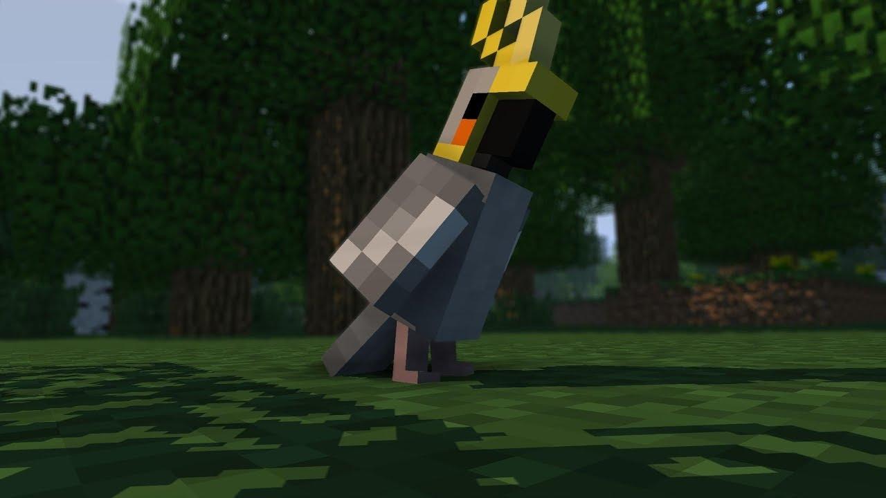 Minecraft dla dużych i małych – Papugi #1
