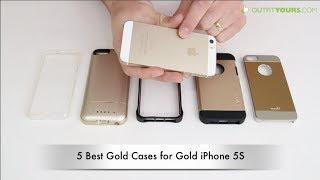 Top 5 Best Gold iPhone 5S cases - Cases for Gold iPhone 5S