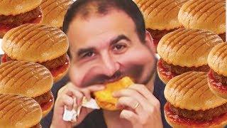 Hamburger Yeme Kapışması - Kim Daha Fazla Yiyecek?