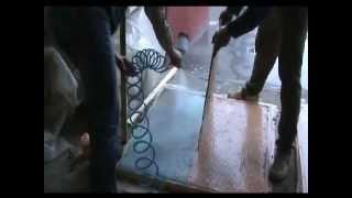 Мытый бетон, вымывной бетон - технология заливки(Для вымывного бетона необходимо просто использовать наши лаки - деактиваторы и замедлители твердения бето..., 2009-10-24T22:49:31.000Z)
