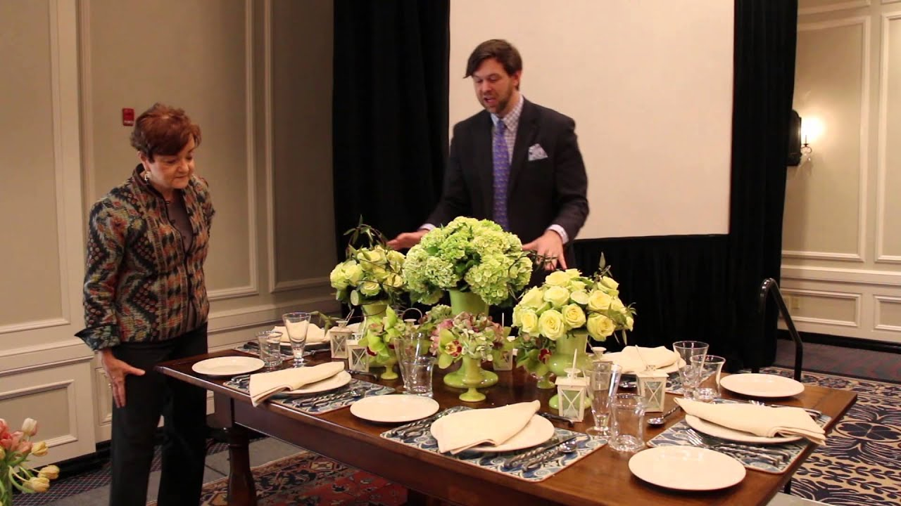 sc 1 st  YouTube & Semi-Formal Table Setting - YouTube