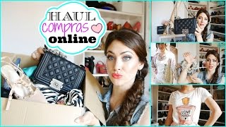 Haul: Compras Online ☼ Online shopping Haul. Ropa, zapatos, bolsos, maquillaje
