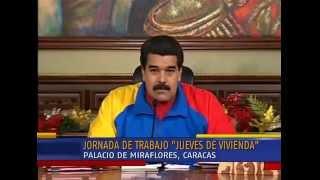 Cadena nacional. Presidente Nicolás Maduro. Ley Orgánica de Misiones. Habilitantes. Venezuela