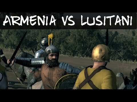 Total War Rome 2 Online Battle 139 Armenia Vs Lusitani