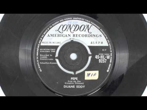 Duane Eddy – Pepe - Side A - London Records - 45-HL-W 9257 [1960]