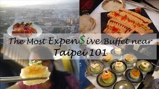 Dining at the most EXPENSIVE buffet near Taipei 101 - 饗饗 ...