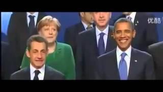 funny videos 7 Chinese President ignores French President Nicolas Sarkozy