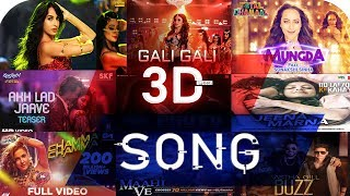 Bollywood 3d songs || Bollywood 3d songs headphones || 3d bollywood songs 2020 || Headphones