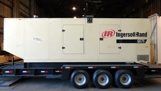 Used-Ingersoll Rand 504 kW standby (458 kW prime) portable generator set - Stock# 46433001