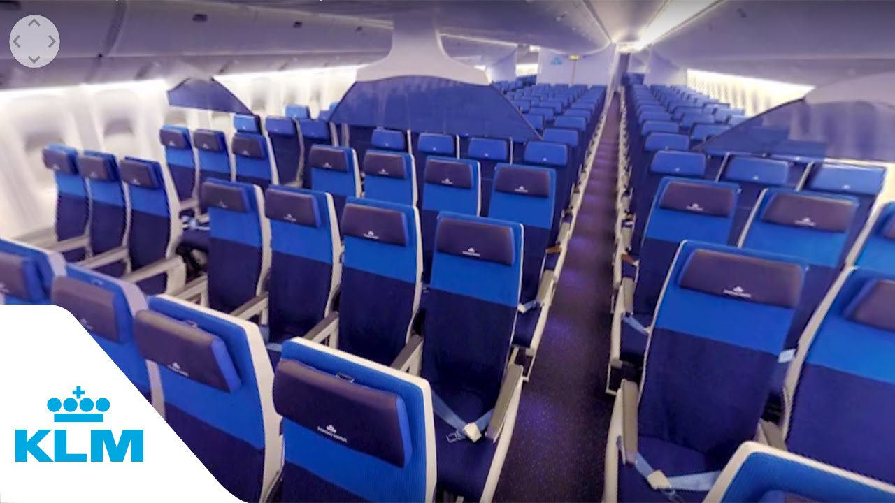 Klm 360 Experience B777 Economy Comfort Youtube