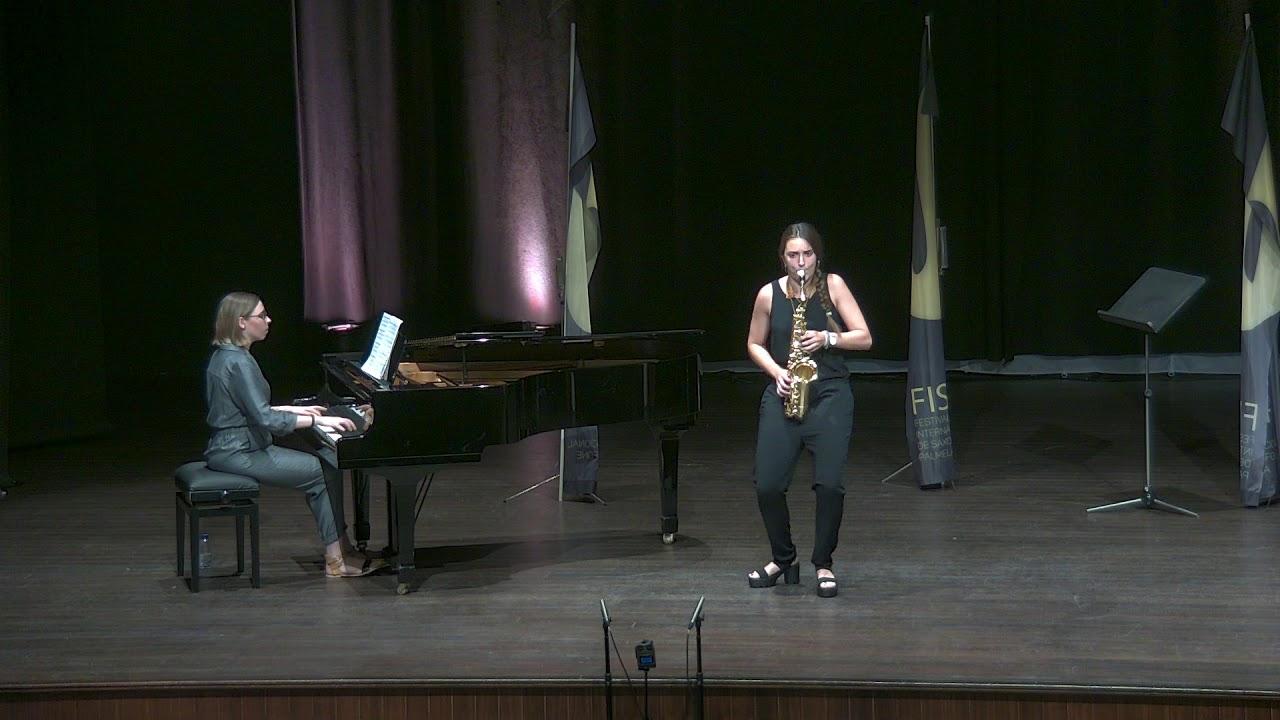 FIS Palmela 2019 - Maria Melgares - Concertino da Camera by Jaques Ibert 1st Mov