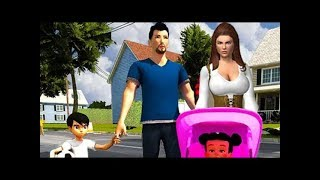 Virtual Mother Simulator: Happy Family New Born Baby Games by  vPlay Android Gameplay HD